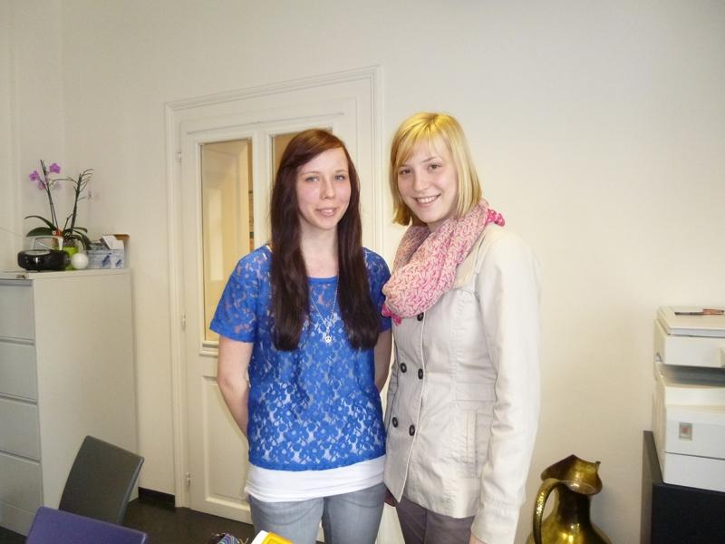 Larissa und Corinna