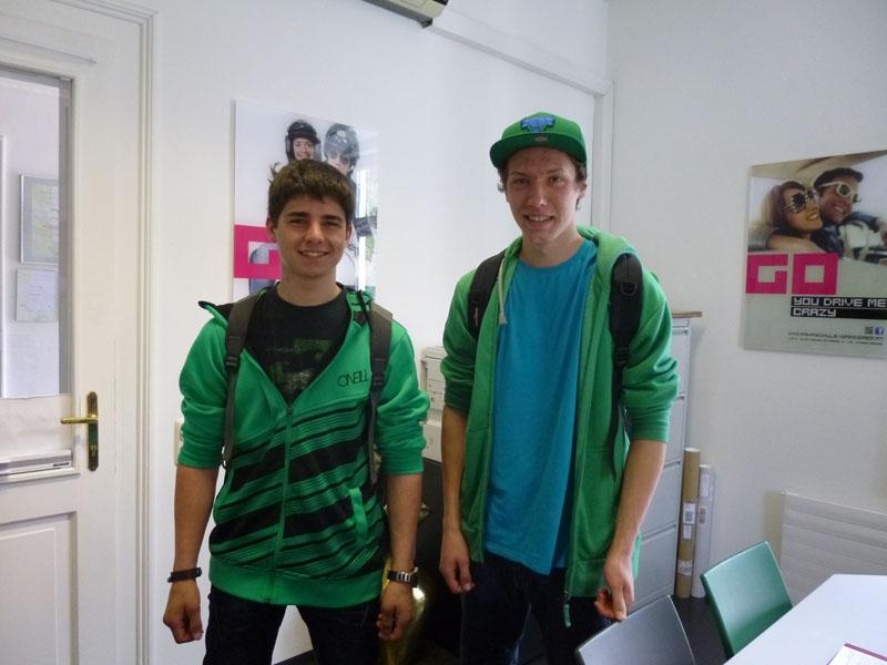 Alois und Maximilian