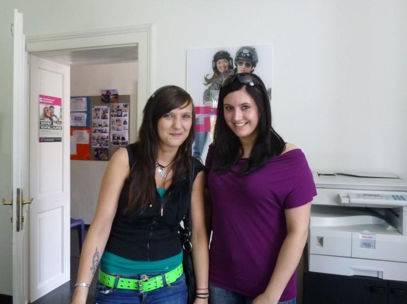 Carina und Sandra
