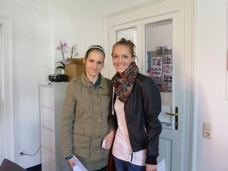 Sarah und Theresa