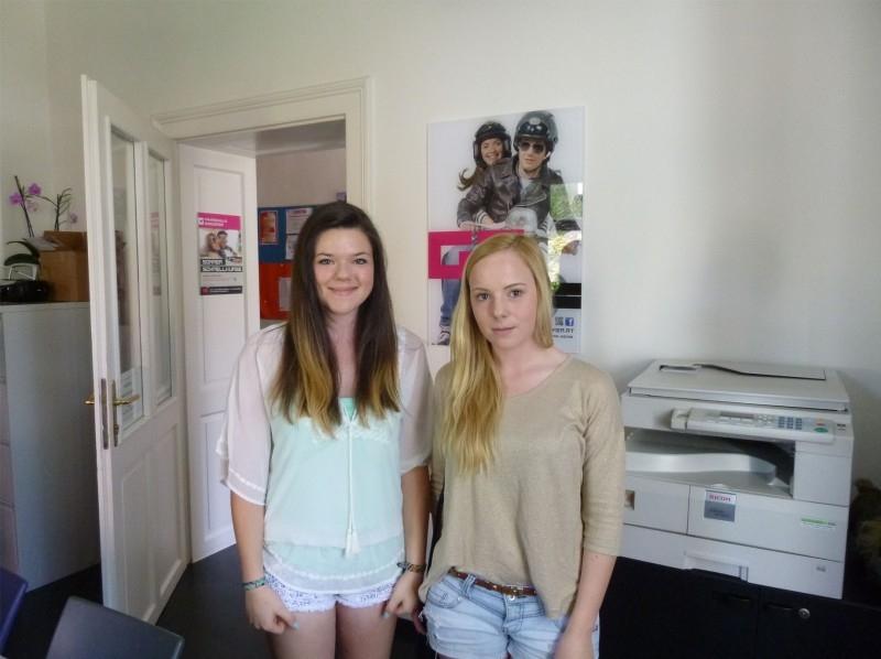 Viktoria und Sabrina