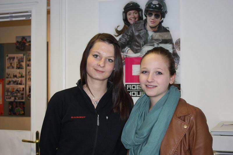 Lena und Stefanie