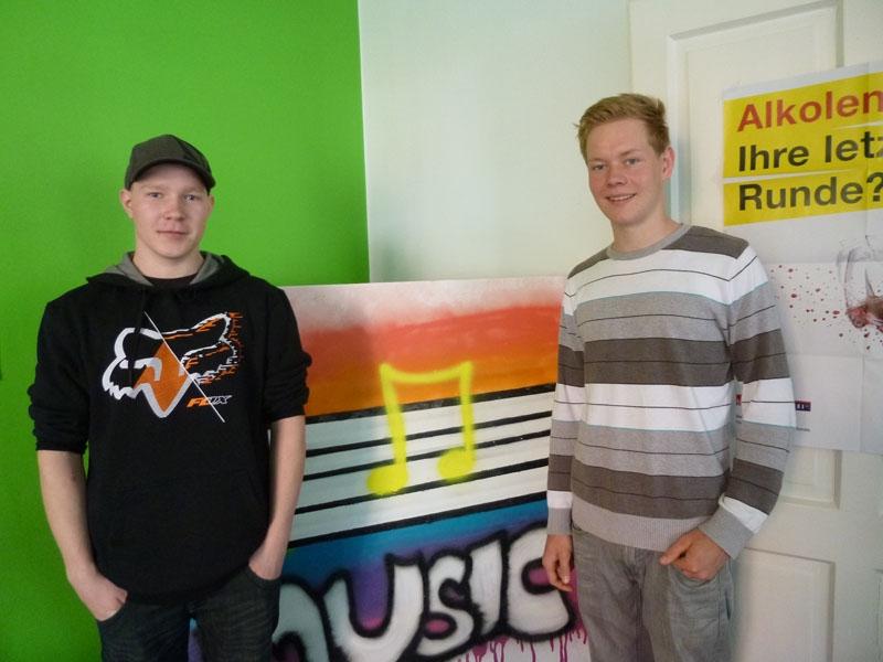 Georg und Anton