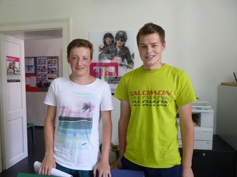 Daniel und Florian