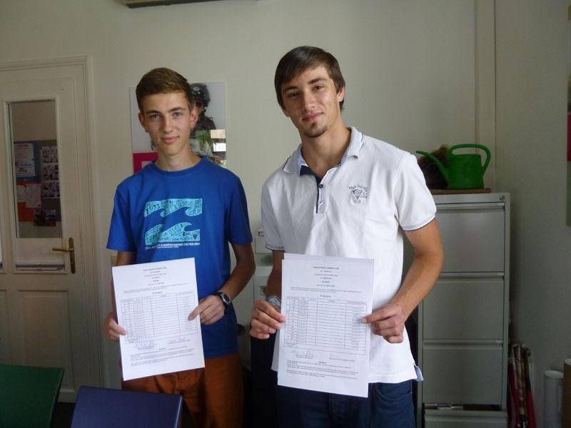 Fabian und Christian