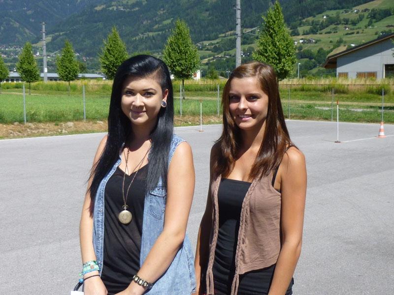Jennifer und Katharina