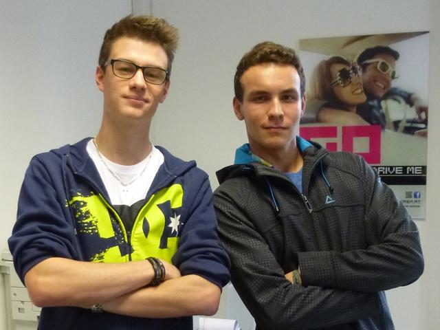 Daniel und Marcel