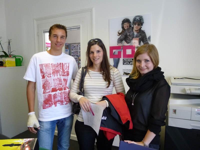 Florian, Manuela und Verena