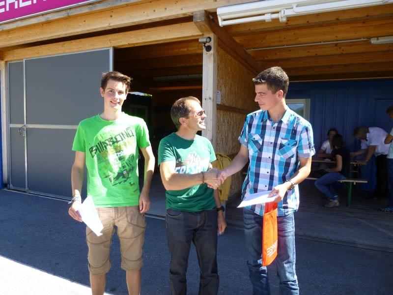 Matthias, Georg und Lukas