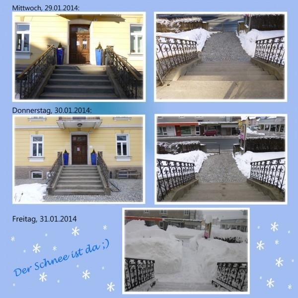 schneefall