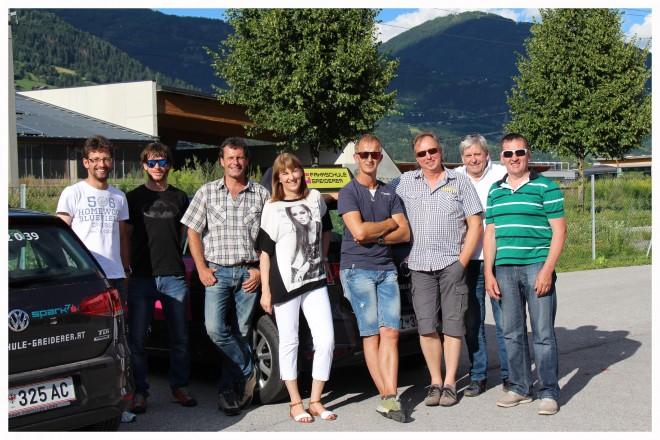 FL-Team mit Elisabeth Greiderer
