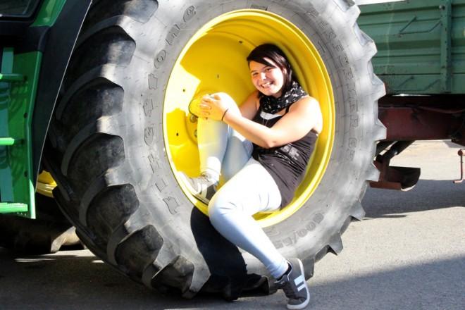 Traktor-Shooting
