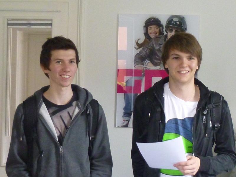 Dominik und Mathias