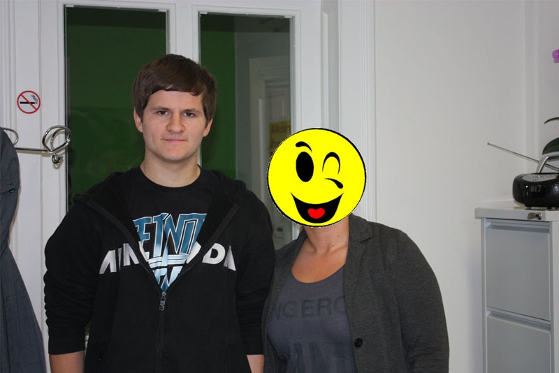 Florian und Mrs. Unbekannt