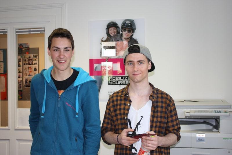 Lukas und Dominik