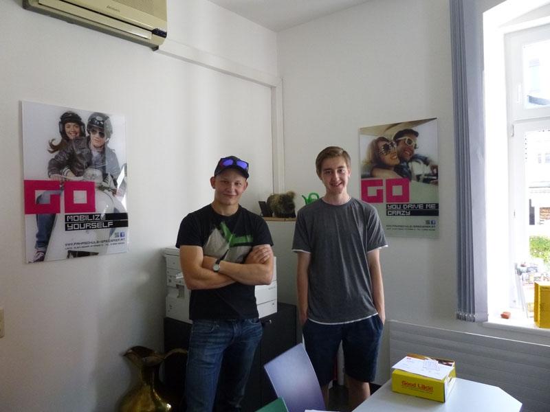 Armin und Florian