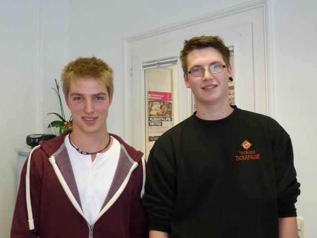 Alexander und Thomas