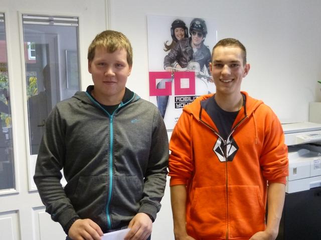 Tobias und Mathias