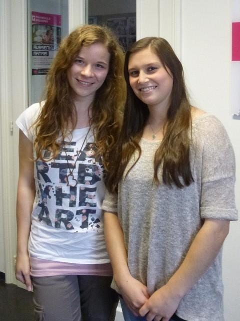 Sabrina und Christina
