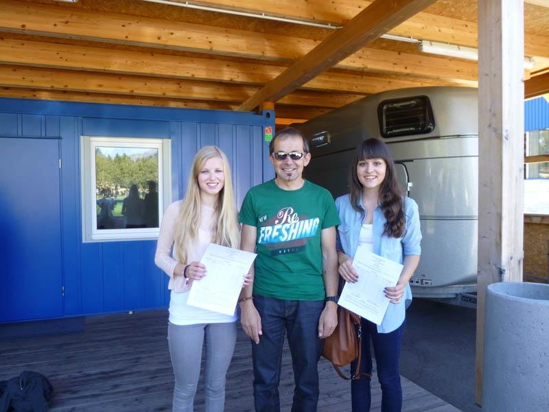 Jasmin, Georg und Julia