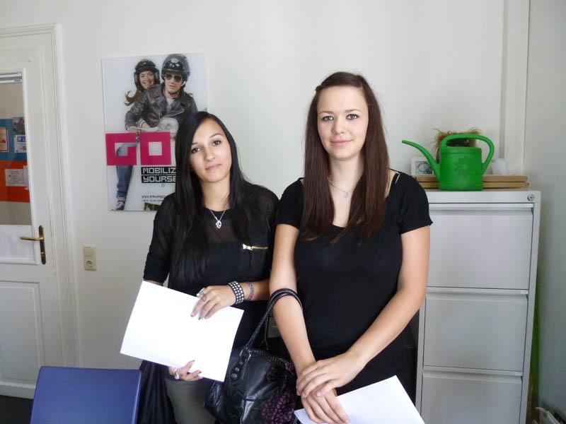 Michelle und Sonja